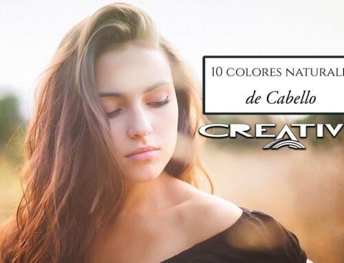 10 colores naturales del cabello con sus reflejos, de tintes y barros