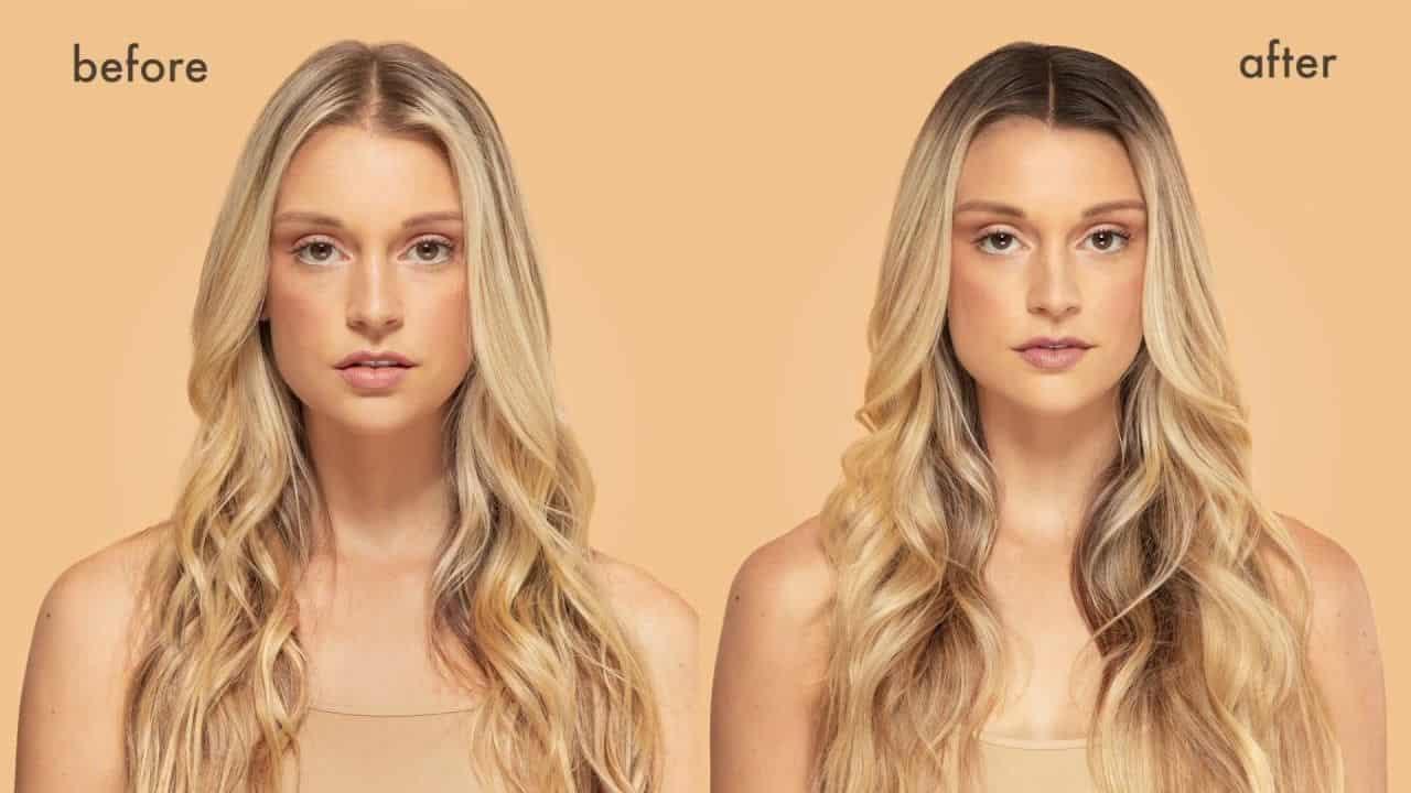 Hair color contouring alicante