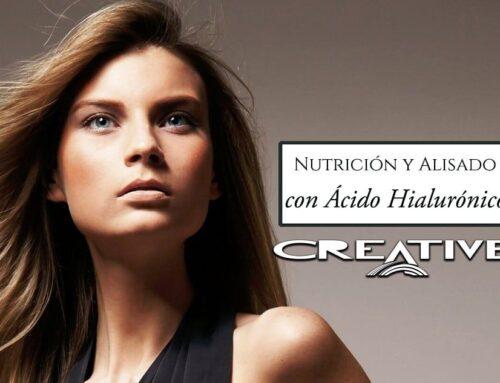 Nutrición y alisado del cabello con el ácido hialurónico