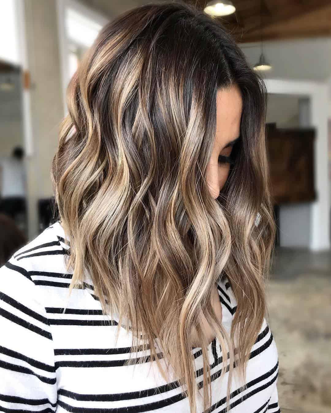 mechas ombre peluqueria alicante