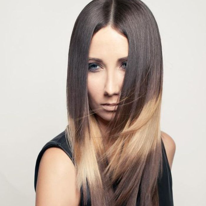 Mechas splashlight alicante