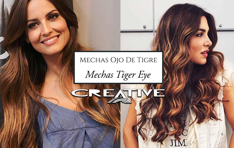 Mechas ojo de tigre