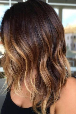 Trendy hair tiger eye