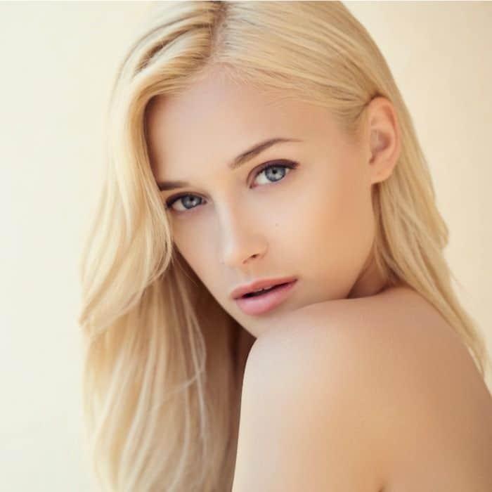 Botox capilar en cabellos rubios