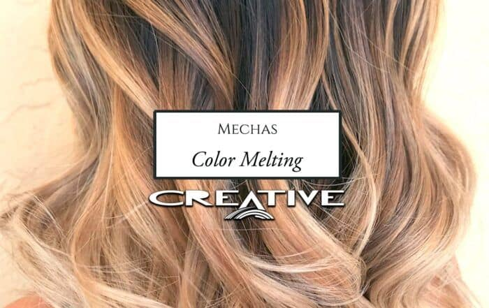 Mechas Color Melting Alicante